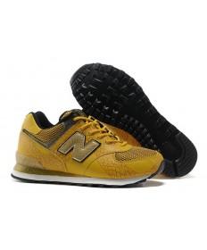 New Balance 574 zapatillas de deporte amarillo, oro de hombre de