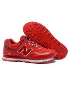 New Balance 574 trainers rojas de los hombre