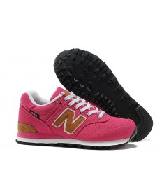 New Balance 574 de color rosa para las zapatillas de deporte para mujer