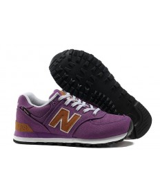 New Balance 574 zapatillas de deporte púrpuras para mujer