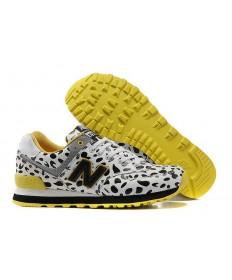 New Balance 574 zapatillas blancas Vacas para mujer