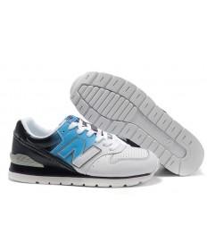 New Balance 996 Blanco, zapatos Azul + Negro para los hombre de