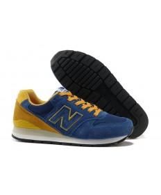 New Balance 996 azul, zapatillas de deporte de los hombre amarillos de