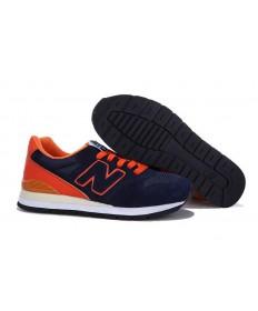 New Balance 996 de la Armada, formadores de naranja hombre