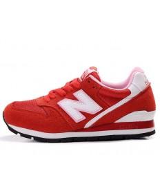 New Balance 996 zapatillas blancas rojas, zapatos para mujer