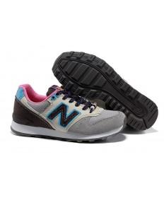 New Balance 996 gris, azul + rosadozapatillas de deporte para mujer