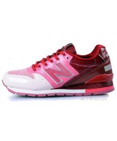 New Balance 996 Blanco, formadores de color rosa zapatos para mujer