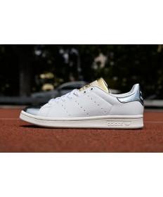 Adidas Stan Smith zapatillas de deporte de plata blanco