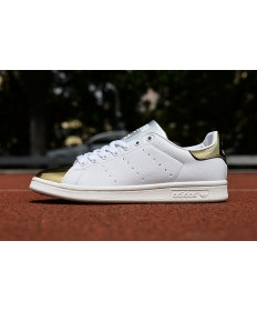 Adidas Stan Smith formadores de oro blanco