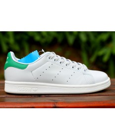 Adidas Stan Smith zapatos formadores verde blanco