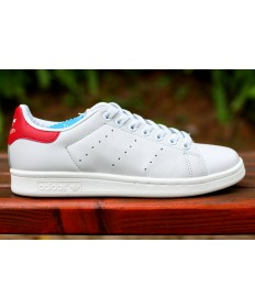 Adidas Stan Smith zapatillas de deporte de color rojo blanco