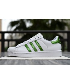 Adidas superstar 80s instructores blanco Seaverde
