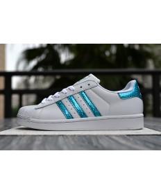 Adidas superstar 80 zapatillas de deporte azul blanco