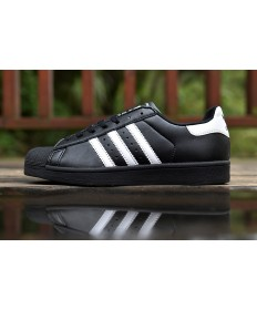 Adidas superstar 80 formadores zapatos blancos negro