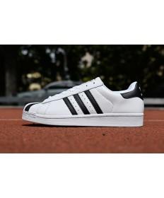 Adidas 80 zapatillas de deporte de la superestrella negro blanco
