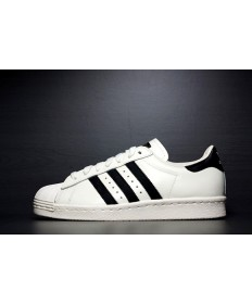Adidas superstar 80 trainers negros blanco