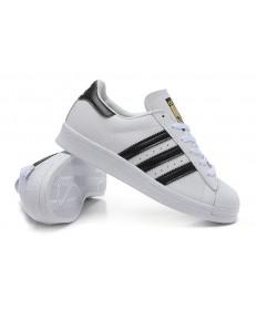 Adidas superstar 80s instructores zapatos negro blanco