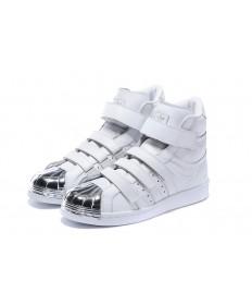 Adidas Superstar 80 zapatillas de deporte blanco/plata