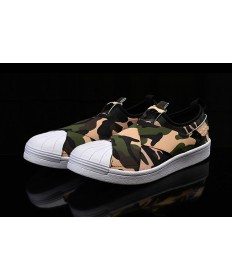 Adidas Superstar SLIP ON zapatillas blancas/camo