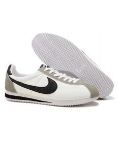 zapatillas de deporte Nike Classic Cortez Nylon para hombre Blanco Gris Negro