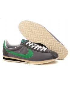 zapatos Nike Classic Cortez Nylon para hombre Gris Verde