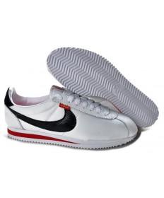 zapatos Nike Classic Cortez Nylon para hombre Blanco Negro Rojo