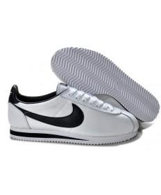 zapatos zapatillas Nike Classic Cortez Nylon negro blanco para hombre