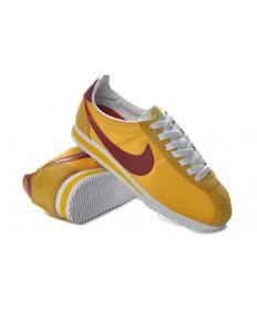 zapatillas de deporte Nike Classic Cortez Nylon amarillo de Borgoña para hombre