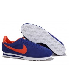 trainers Azul Naranja Negro Nike Classic Cortez Suede Vintage para hombre
