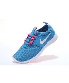 Nike Roshe Run Hyp QS cielo azul profundo/de color rosa oscuro/blanco para trainers para mujer