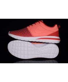 zapatos zapatillas Nike Roshe Run Hyp QS 3M reflectante de color rojo