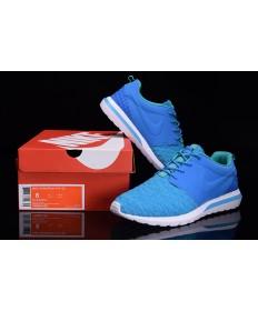 Nike Roshe Run Hyp QS 3M zapatillas de deporte azul de los Dodgers/Cielo Profundo azul/turquesa