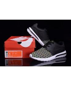 Nike Roshe Run Hyp QS 3M formadores Negro/verde fluorescente