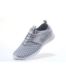 gris Nike Roshe Run mujer ligero/zapatillas blancas