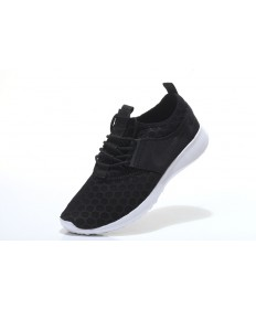 Nike Roshe Run para mujer Negro/Zapatos blancos