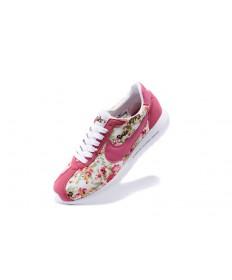impresión Nike Roshe LD-1000SP Frag hombreto para mujer color rosa oscuro/flor/zapatillas de deporte blancas