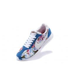 azul Nike Roshe LD-1000SP Frag hombreto mujer real de impresión/flor/formadores blancos