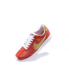 Nike Roshe LD-1000SP Frag hombreto mujer tomate/vara de oro/Zapatos blancos