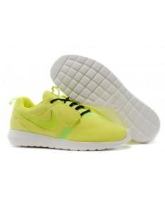 Nike Roshe Run NM BR 3M Suede para hombre reflectante amarillo/negro Zapatos de la zapatillas