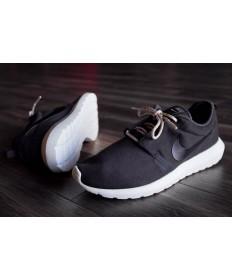 Nike Roshe Run NM BR 3M ante negro/blanco formadores zapatillas de deporte para hombre