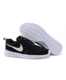 Nike Roshe Run NM BR 3M Negro/trainers blancos para hombre
