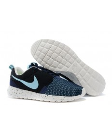 Nike Roshe Run NM BR 3M Nueva Fuerza Aérea azul/negro de carbón/Velas/zapatos blanco del cielo azul para hombre