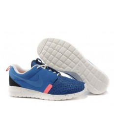 Nike Roshe Run NM BR Ejército 3M azul/de vela/azul profundo zapatos blancos formadores/Rojo para hombre