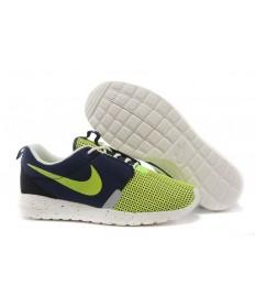 Nike Roshe Run NM BR 3M Gamma Azul oscuro/blanco verde/velas formadores para hombre