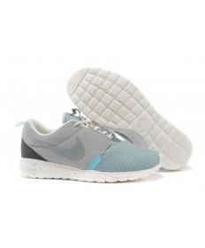 bases Nike Roshe Run NM BR 3M gris/blanca de la vela/zapatos azules claros para hombre