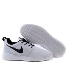 Nike Roshe Run blanco/negro zapatillas de deporte los