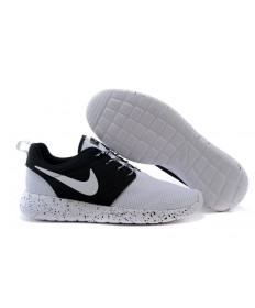 Nike Roshe Run Blanco/Negro zapatillas de deporte