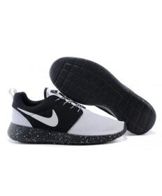 Nike Roshe Run Blanco/Negro zapatos de formadores