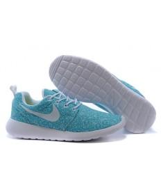 Nike Roshe Run para hombre mediano turquesa/formadores blancos