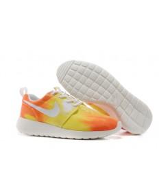 Nike Roshe Run la puesta del sol/naranja/amarillo formadores zapatillas de deporte